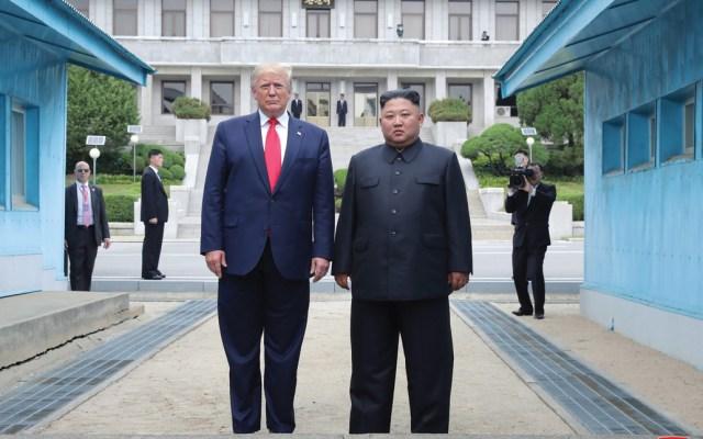 Trump no descarta reunión con Kim antes de que termine el año - donald trump t kim jong-un