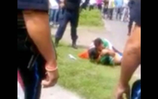 #Video Abaten a presunto delincuente en Ecatepec, padre llora su muerte - Ecatepec