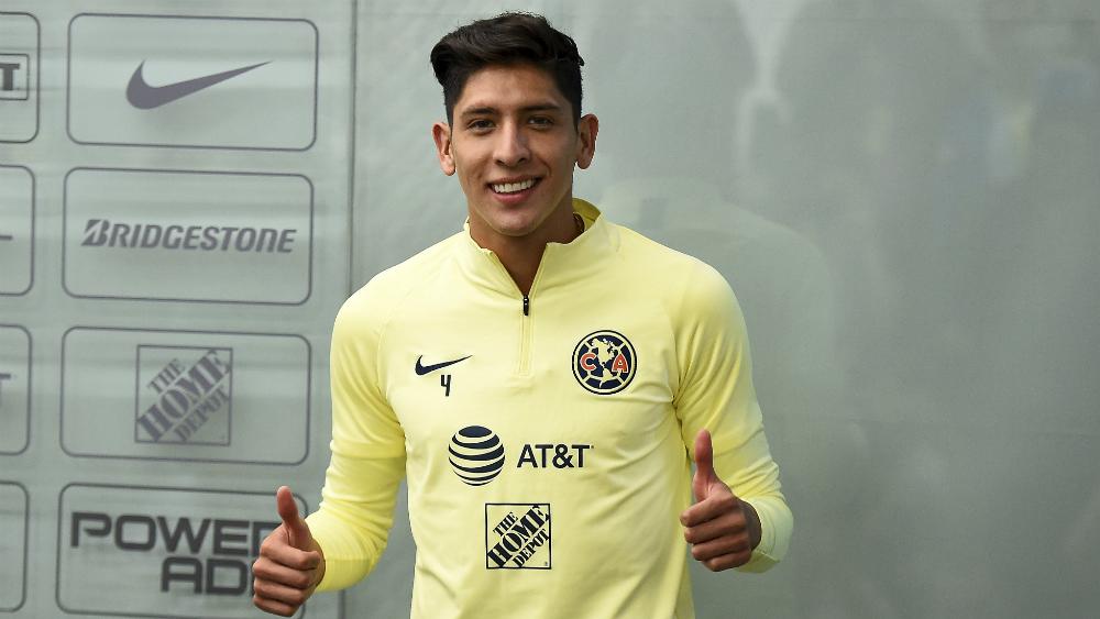 Edson Álvarez asegura que emigra al Ajax más maduro y con ganas de crecer - Foto de Mexsport