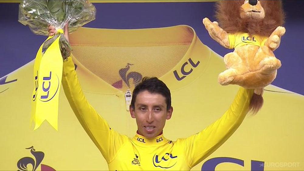 El colombiano Egan Bernal es el virtual ganador del Tour de Francia - Egan Bernal Tour de Francia