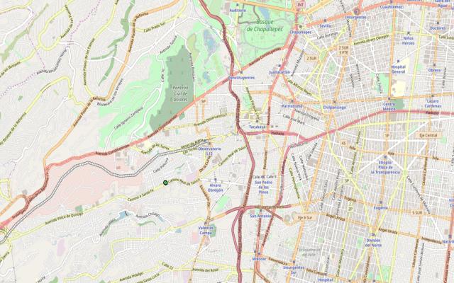 Nuevo sismo en Álvaro Obregón durante la madrugada - El sismo de esta madrugada, ocurrido al suroeste de Álvaro Obregón. Foto de SSN.UNAM