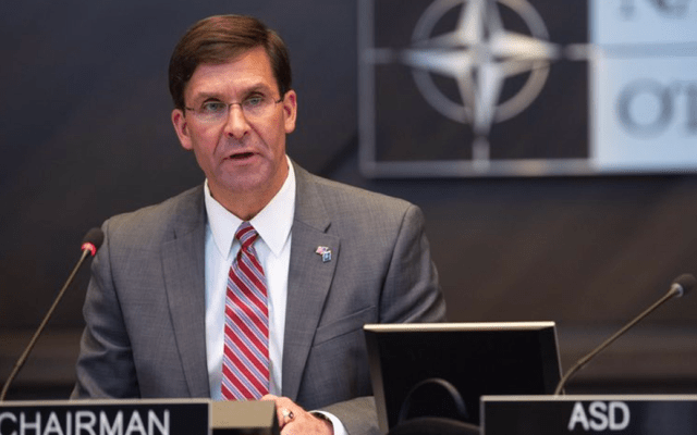 Trump nomina a Mark Esper como secretario de Defensa - Foto de @EsperDoD
