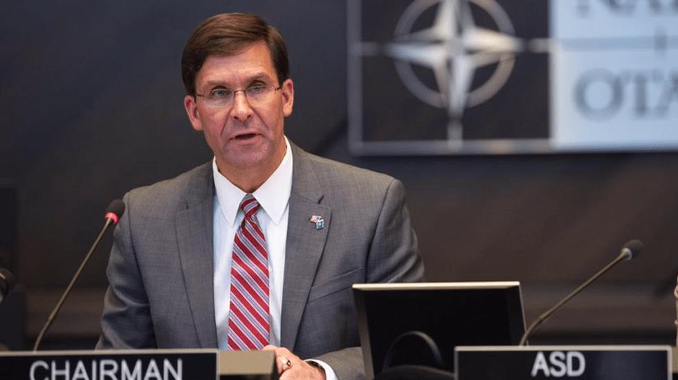 Trump nomina a Mark Esper como secretario de Defensa - Foto de @EsperDoD