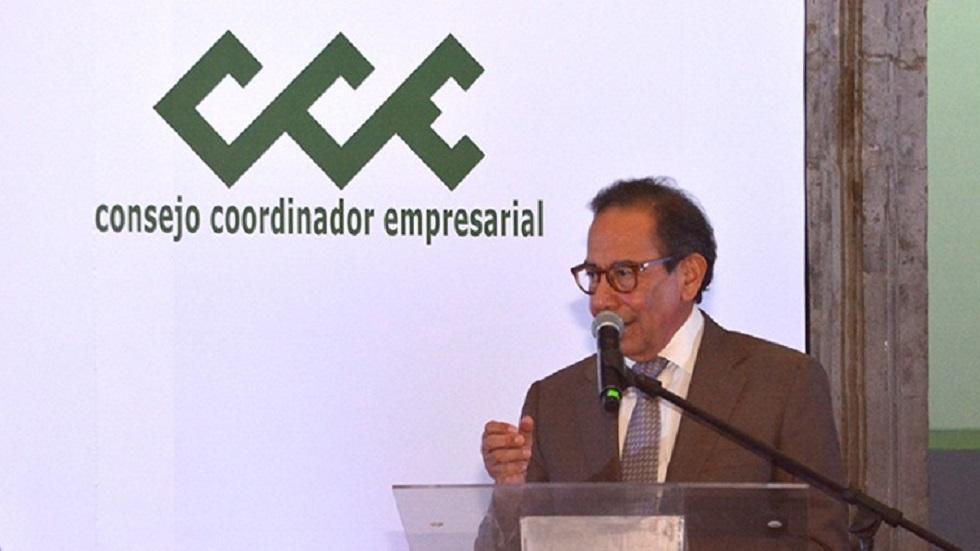 Carlos Salazar Lomelín, titular del CCE. Foto de @cceoficialmx