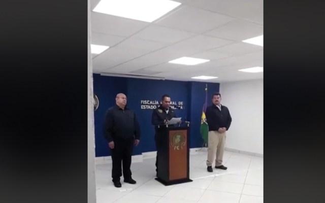 Aeronáutica Civil realiza peritajes por desplome de helicóptero en Michoacán - Captura de pantalla