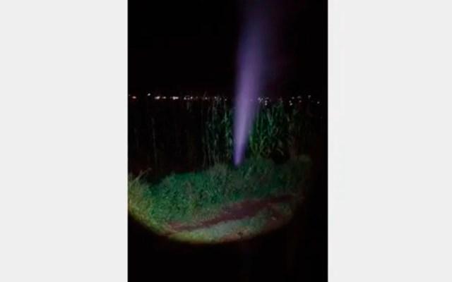 Fuga de hidrocarburo alcanza cinco metros de altura en Hidalgo - fuga hidalgo
