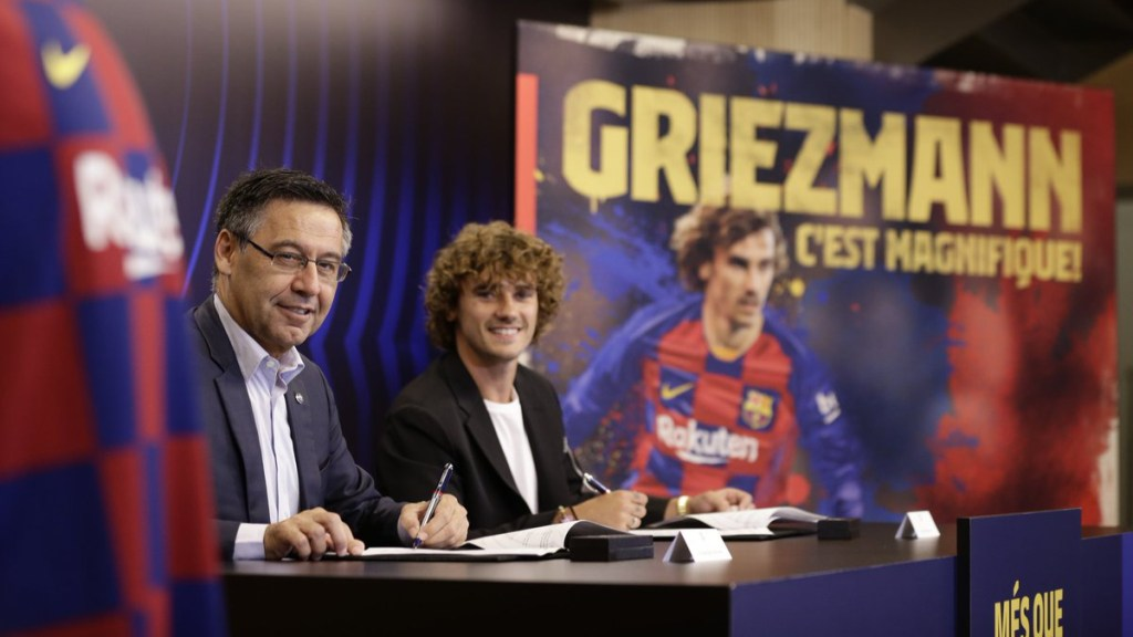 """No me arrepiento de haber filmado el documental"": Antoine Griezmann - griezzman documental barcelona (1)"