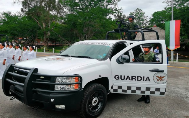 Arriban tres mil elementos de la Guardia Nacional a Guerrero - guardia nacional despliegue guerrero
