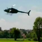 """#Video Cae helicóptero durante grabación de """"El Señor de los Cielos""""; hay dos heridos"""