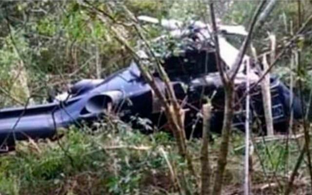Lamenta AMLO muerte de funcionarios en Michoacán - helicóptero Michoacán