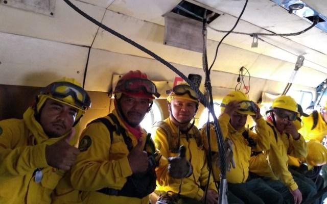 Controlado en 80 por ciento incendio forestal en Quintana Roo - incendio forestal controlado (1)