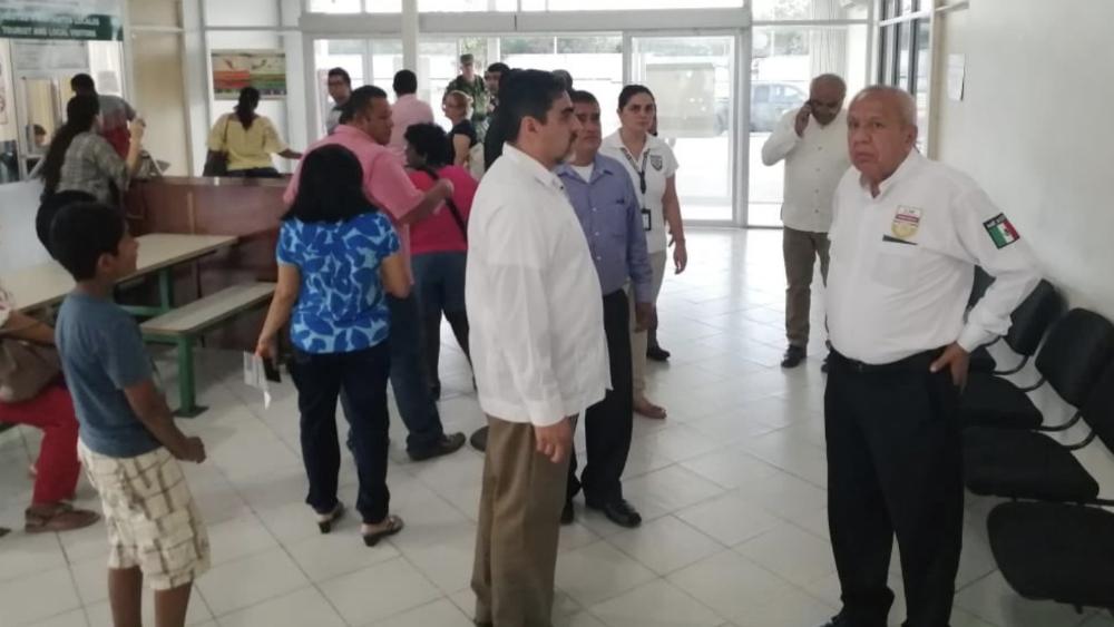 Autoridades del INM supervisan estación migratoria en Chetumal - Foto de INM