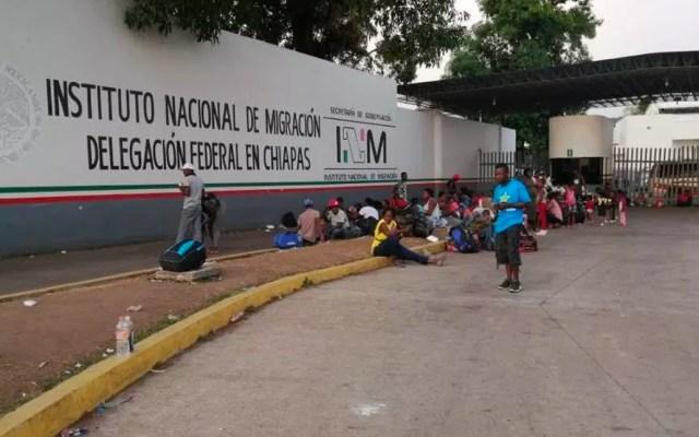 Más 61 mil migrantes ingresaron a la estación de Chiapas en primer semestre: INM - INM