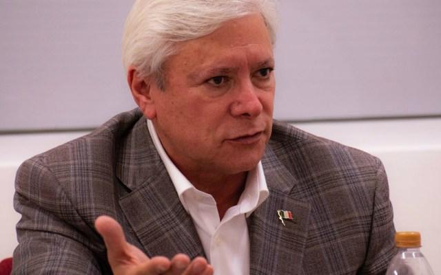 """A nadie le ponen la pistola en la cabeza"" para votar: Jaime Bonilla - Foto de Jaime Bonilla Valdez"