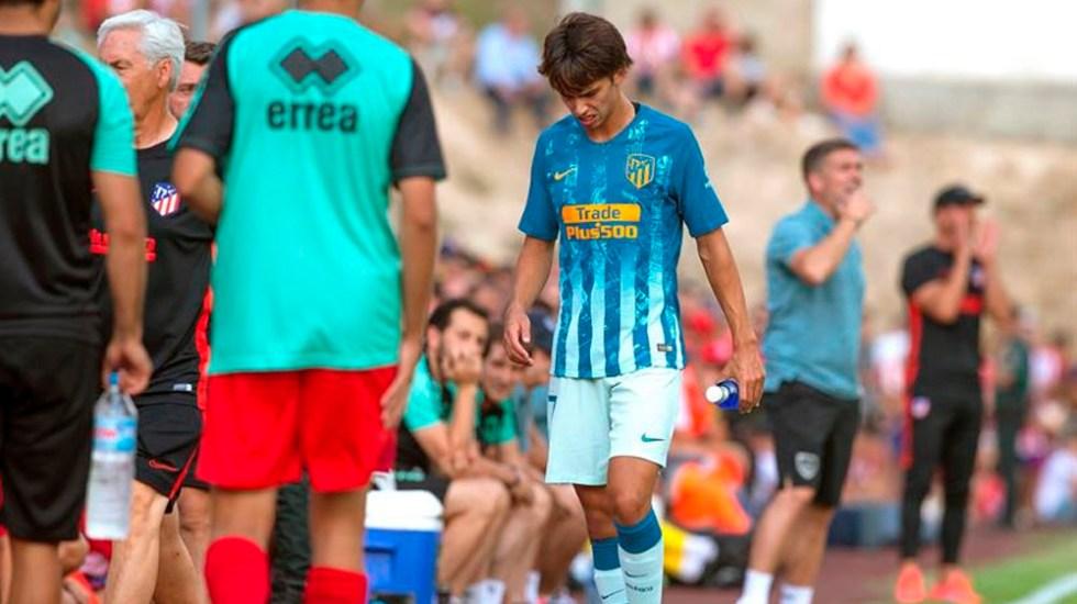 Joao Félix sale lesionado en su debut con el Atlético - Joao Félix Atlético