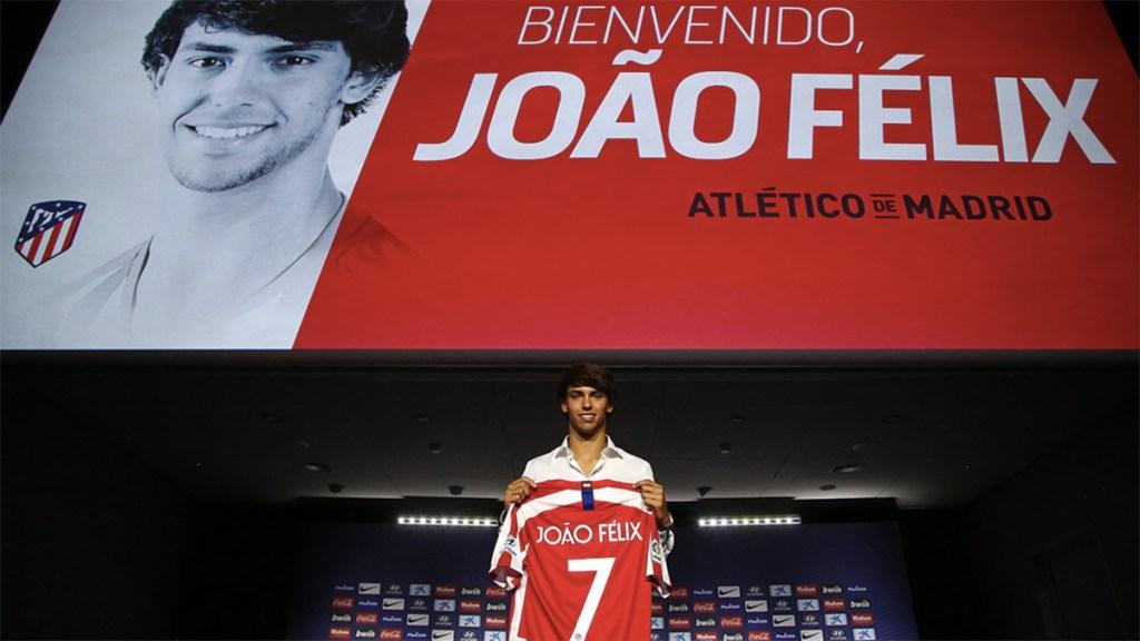 Estoy en el Atlético para hacer historia: Joao Félix - joao felix presentación atlético de madrid