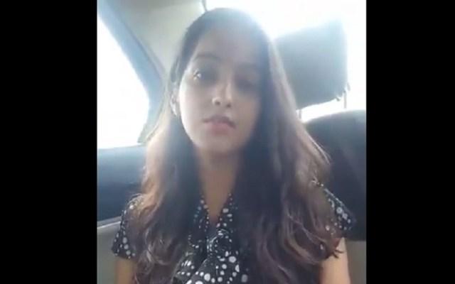 #Video Joven india acusa a su padre de amenazas por casarse - Joven india que teme por su vida. Captura de pantalla