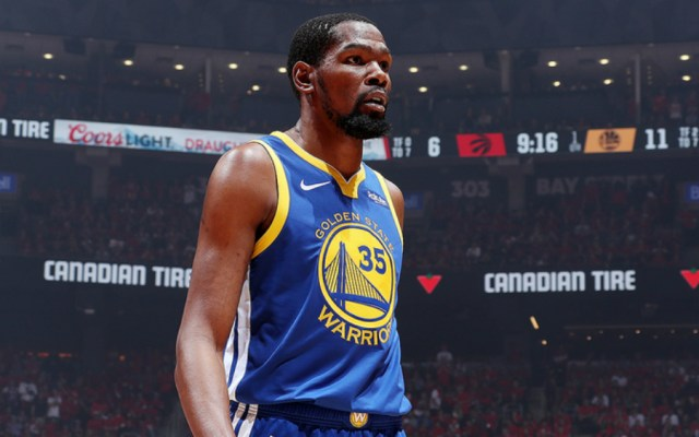 Warriors deciden retirar el número 35 de Kevin Durant - Foto de NBA