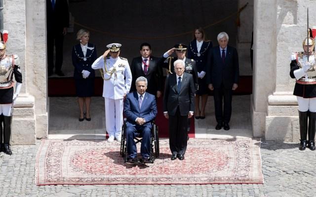 Presidentes de Italia y Ecuador respaldan a Guaidó en crisis de Venezuela - Foto de @Quirinale