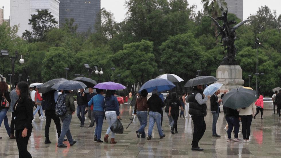 Lluvia y caída de granizo activan Alerta Amarilla en 9 alcaldías. Noticias en tiempo real