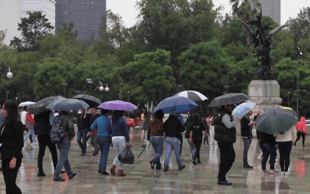Persistirán lluvias puntuales fuertes en el Valle de México - lluvias ciudad de méxico