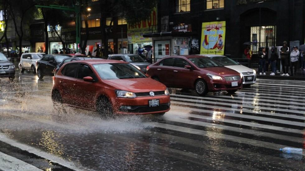 Activan Alerta Naranja por lluvia en la GAM - Foto de Notimex
