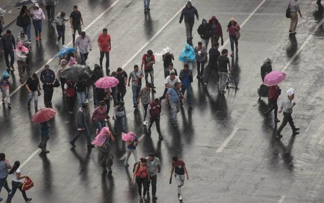 Se esperan lluvias en 30 estados; en ocho serán de fuertes a muy fuertes - Foto de Notimex-Alejandro Meléndez.