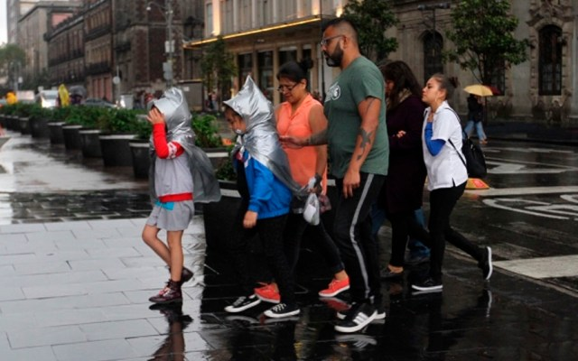 Continuarán las lluvias este martes en gran parte del país - lluvias