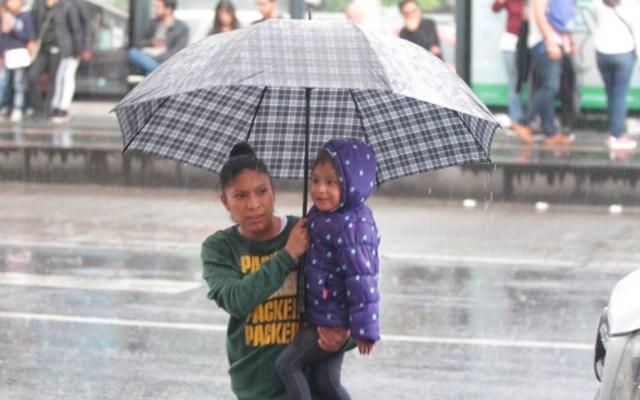 Continuarán las lluvias en la mayor parte del país - lluvias