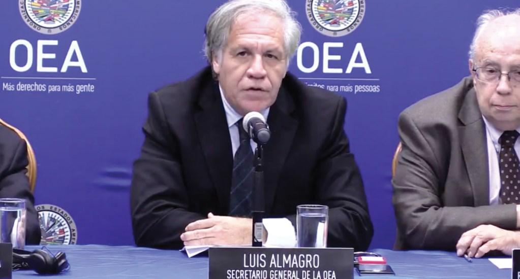 Diálogo en Venezuela solo servirá con presión de EE.UU.: Almagro - Captura de pantalla