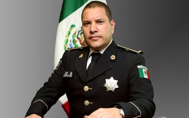 'El Chapo' solo tenía tres finales: Manelich Castilla - Manelich Castilla como comisionado general de la Policía Federal. Foto de Gobierno de México