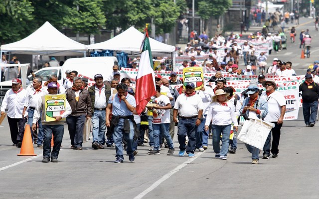 Las movilizaciones de este martes en Ciudad de México - manifestaciones movilizaciones