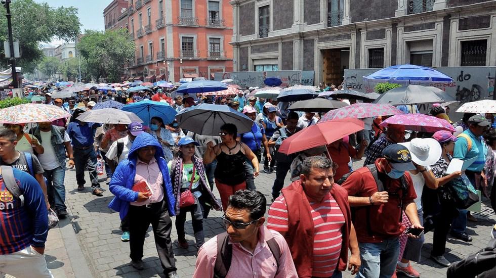 Al menos cinco movilizaciones este domingo en Ciudad de México - manifestaciones movilizaciones ciudad de méxico