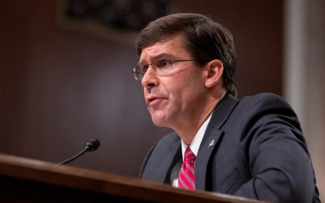 Senado confirma a Mark Esper como secretario de Defensa de EE.UU. - Mark Esper