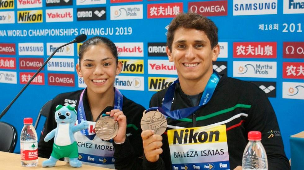 Mexicanos ganan histórica medalla en clavados mixtos - medalla bronce mexicanos clavados