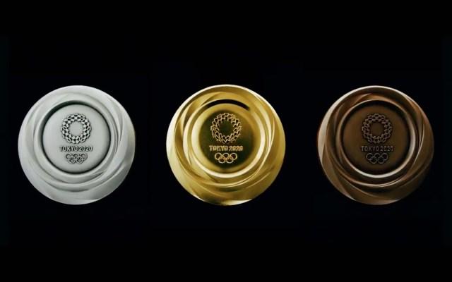 Presentan las medallas para Tokio2020 - medallas tokyo