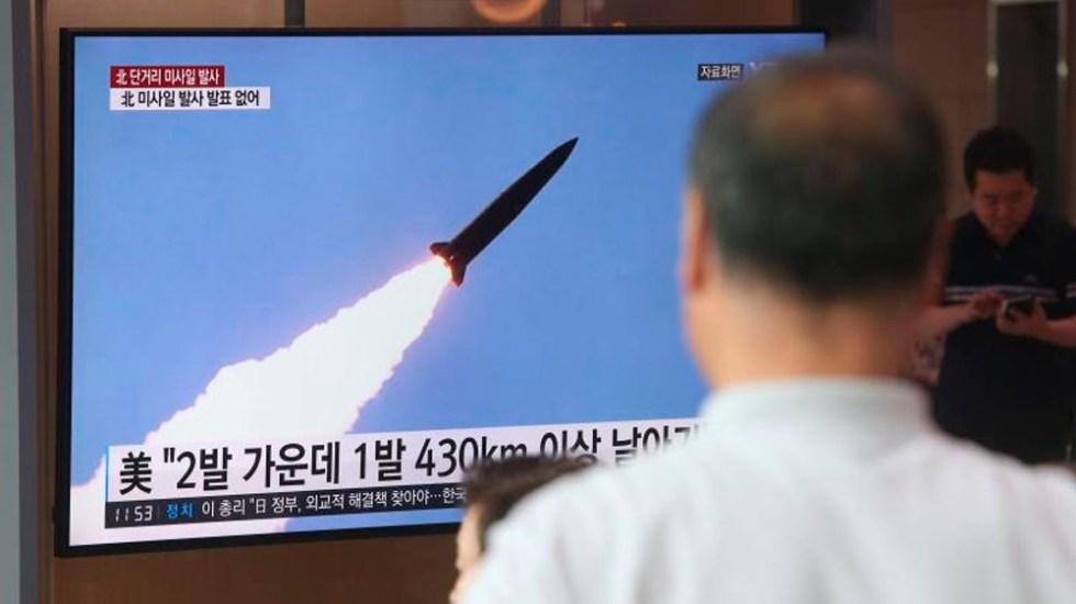 Nuevo lanzamiento de proyectiles de prueba desde Corea del Norte - misiles corea del norte