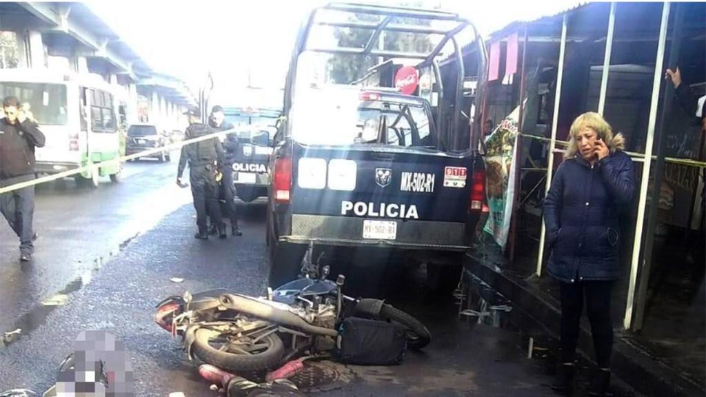 Atropellan y matan a motociclista en Iztapalapa - motociclista avenida tláhuac