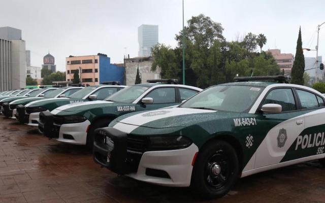 Llegan 160 nuevas patrullas a Cuauhtémoc; cubrirán 105 cuadrantes