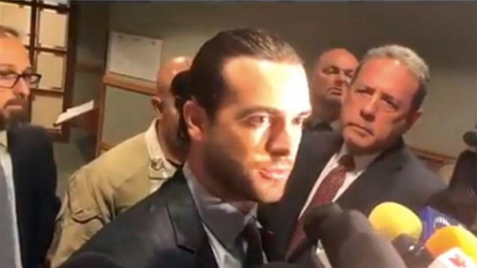 #Video Pablo Lyle agradece a medios por interés en su caso - Pablo Lyle entrevista medios