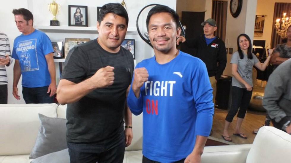 Manny Pacquiao envía mensaje a López Obrador - Pacquiao Terrible Morales