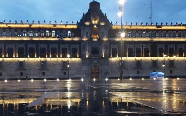López Obrador desmiente uso de salones de lujo en Palacio Nacional - Foto de @CulturaHacienda