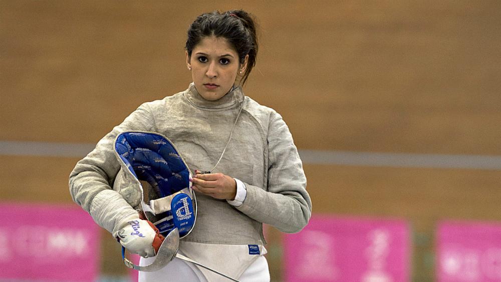 Esgrimista Paola Pliego anuncia que ya no competirá por México - Paola Pliego esgrimista