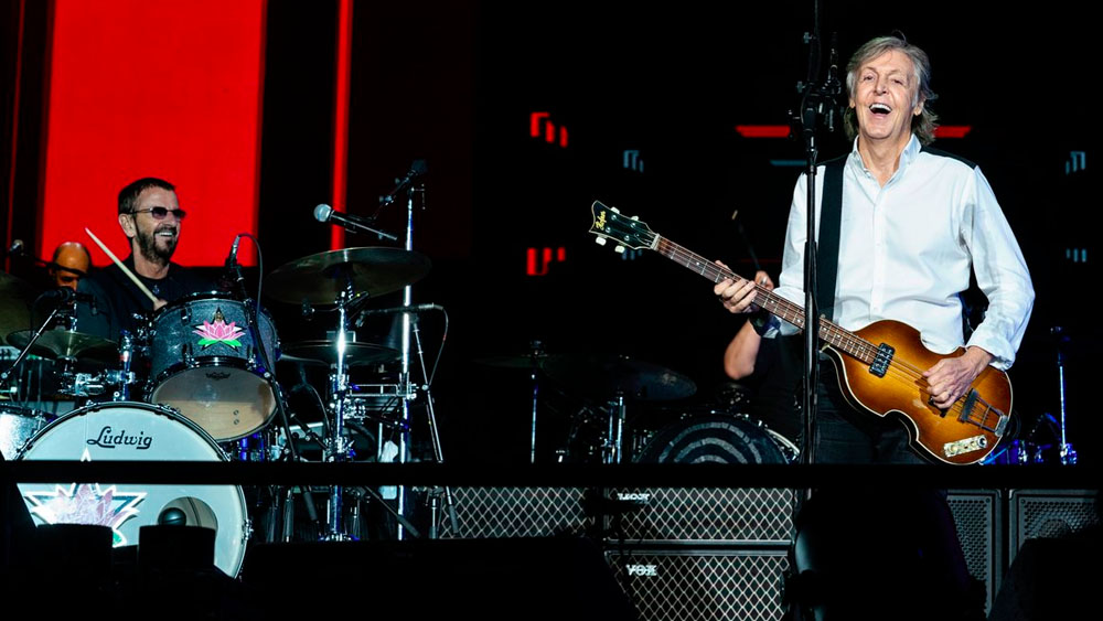 #Video Paul McCartney y Ringo Starr comparten escenario. Noticias en tiempo real