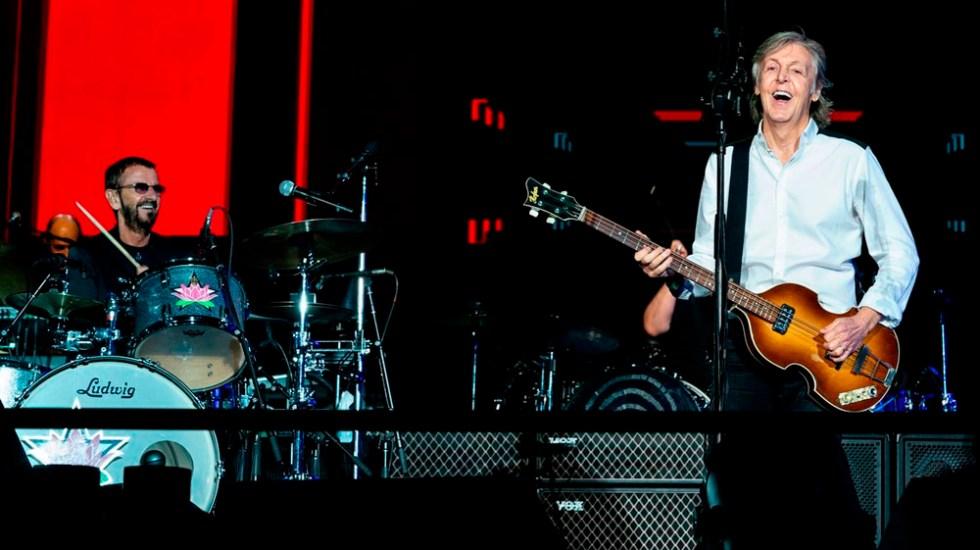 #Video Paul McCartney y Ringo Starr comparten escenario - Paul McCartney y Ringo Starr
