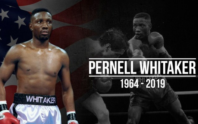 Muere atropellado el boxeador Pernell Whitaker - Pernell Whitaker
