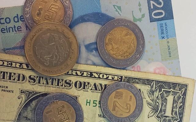 Dólar gana siete centavos y se cotiza en 20.17 pesos - Peso dòlar dólares tipo de cambio moneda billetes dinero