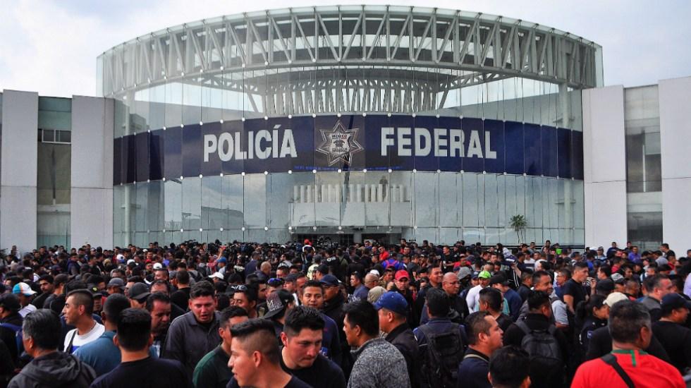 Sin acuerdos autoridades y Policía Federal; continuará diálogo - Foto de Notimex