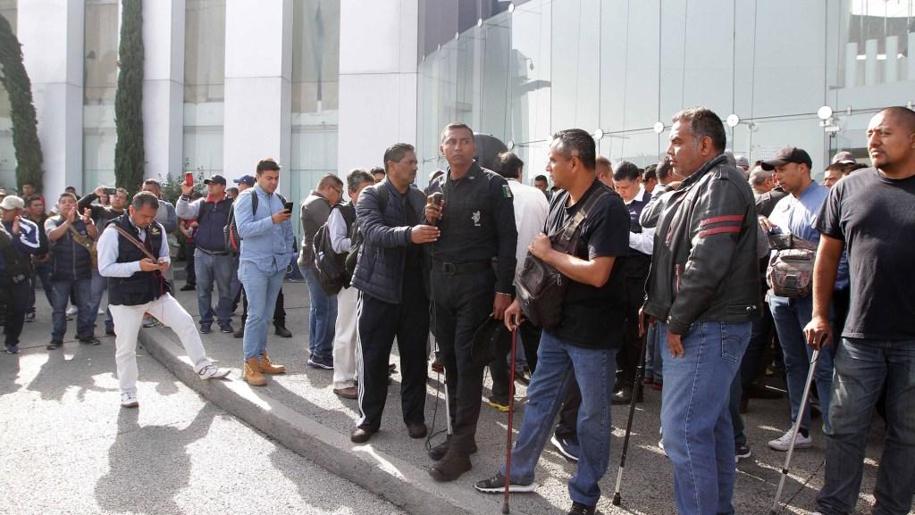 Confirman denuncia por amenazas de muerte a policía federal; dan ultimátum a autoridades para retomar diálogo - Policía Federal. Foto de Notimex- Gustavo Durán.