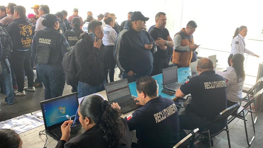 Suman casi 9 mil policías atendidos por cambio a Guardia Nacional. Noticias en tiempo real